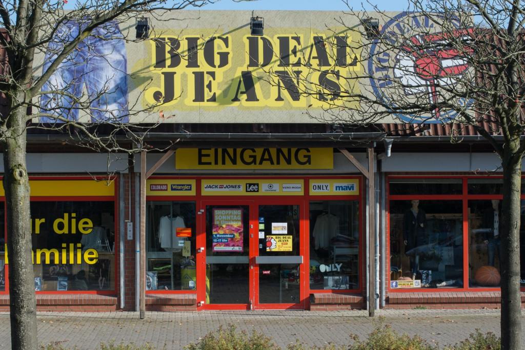 Big Deal Jeans Elmshorn Eingang
