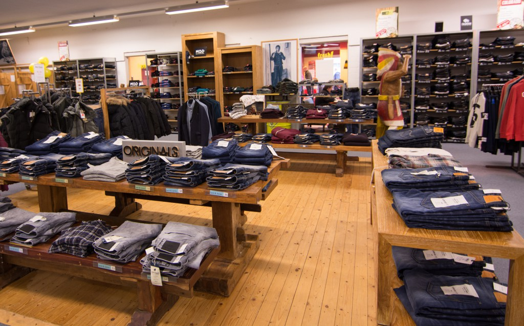 Big Deal Jeans Henstedt Innenansicht