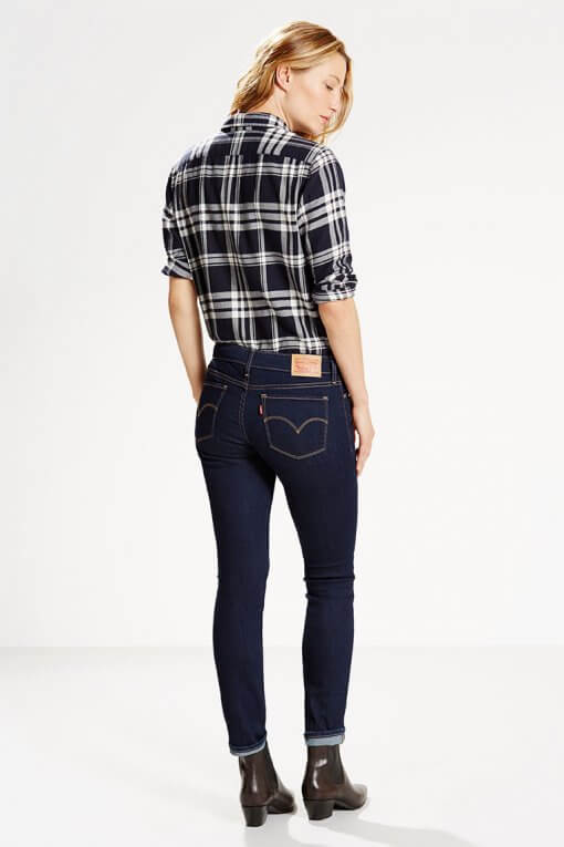 Levi's 711 Skinny Jeans Lone Wolf Hinteranischt