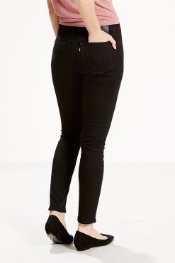 Levi's 711 0052 black sheep Hinteransicht