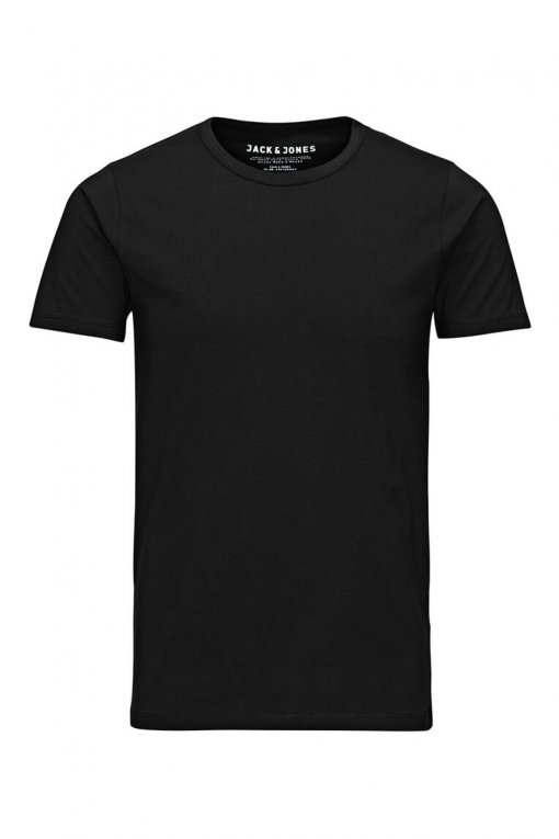 Jack & Jones O-neck tee black Vorderansicht