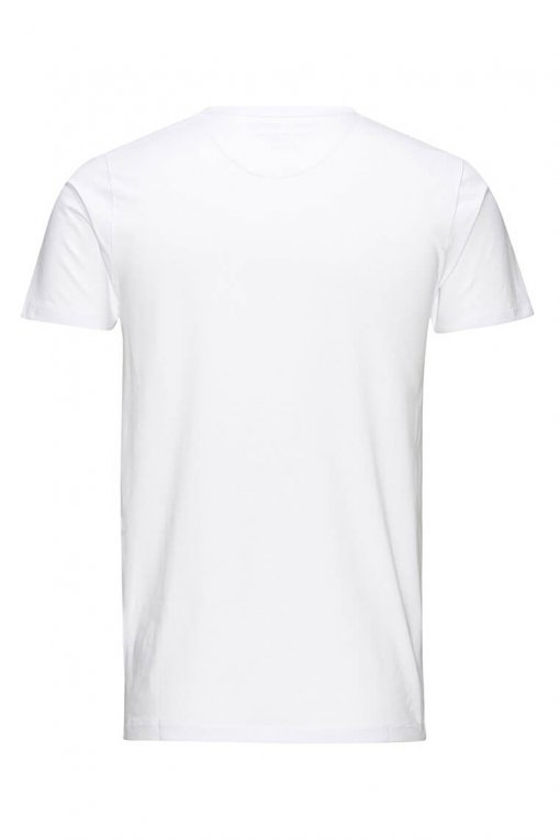 Jack & Jones O-neck tee optical white Hinteransicht
