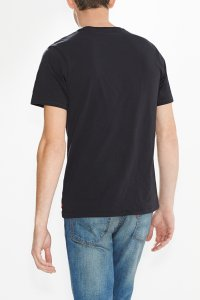 Levi's logo tee men black Hinteransicht