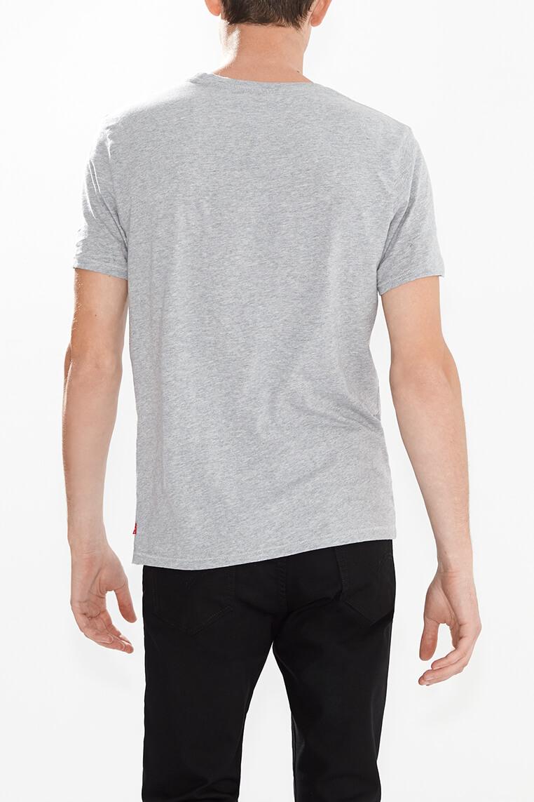 Levi's logo tee men grey Hinteransicht