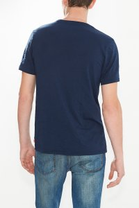Levi's logo tee men navy blue Hinteransicht