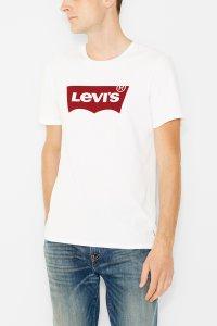 Levi's logo tee men white Vorderansicht