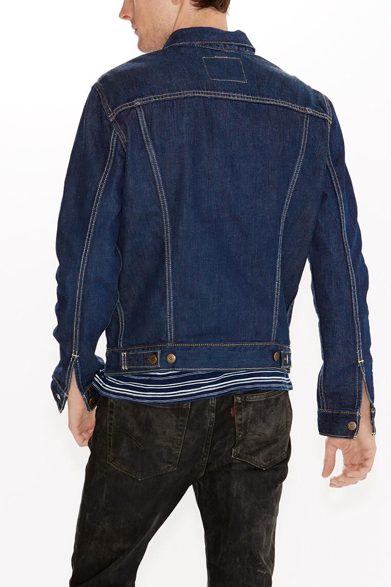 Levi's Trucker Jacket stone blue Hinteransicht