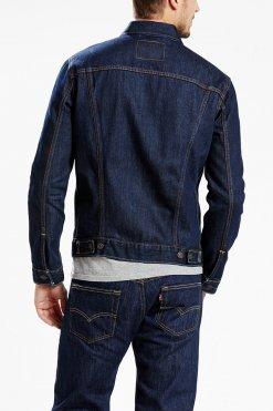 Levi's Trucker Jacket rinsed Hinteransicht