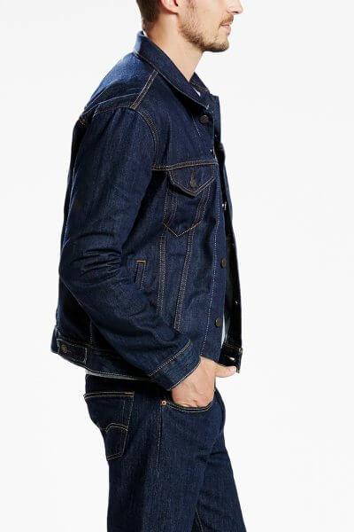 Levi's Trucker Jacket rinsed Seitenansicht