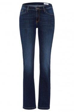 Cross Jeans Lauren dark blue wash Vorderansicht 2