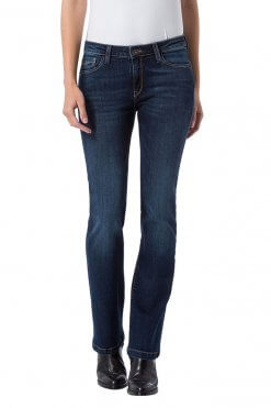 Cross Jeans Lauren dark blue wash Vorderansicht