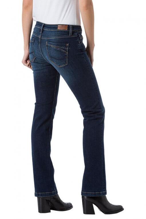 Cross Jeans Lauren dark blue wash Seitenansicht