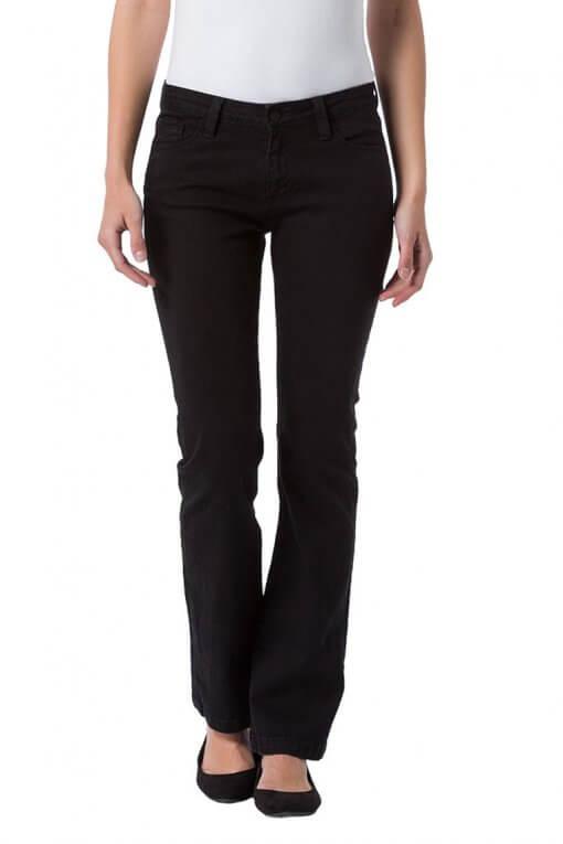 Cross Jeans Lauren black Vordernansicht