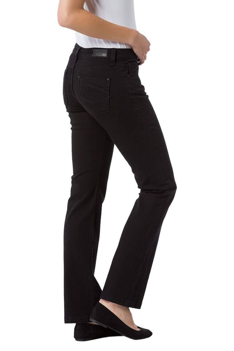 Cross Jeans Lauren black Seitenansicht