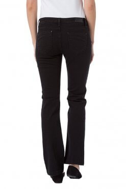 Cross Jeans Lauren black Hinteransicht