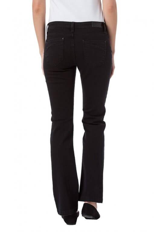 Cross Jeans Lauren black Hinteransicht