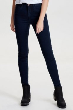 Only Royal dark blue denim Vorderansicht