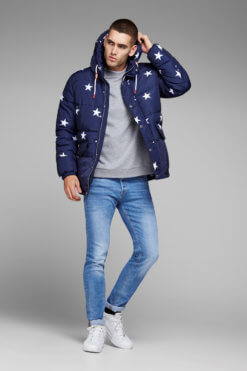 Jack & Jones Tim light blue denim Vorderansicht 2