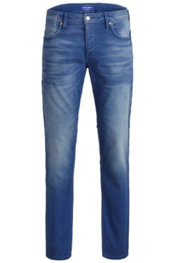 Jack & Jones Tim med blue jogg denim Vorderansicht