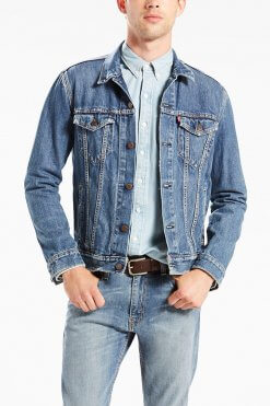 The Trucker Jacket The Shelf Vorderansicht