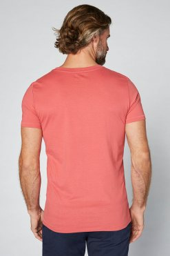 Colorado Adonis T-Shirt garnet rose Hinteransicht