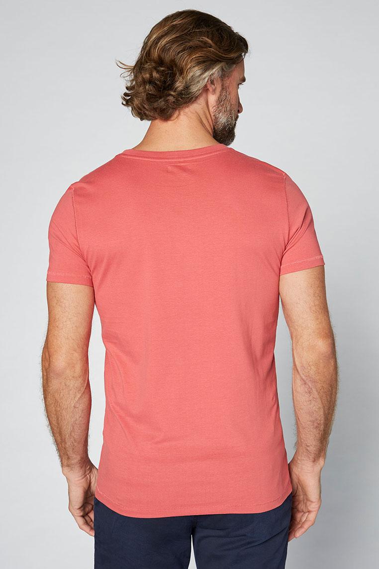 Colorado Adonis T-Shirt garnet rose Hinteransicht