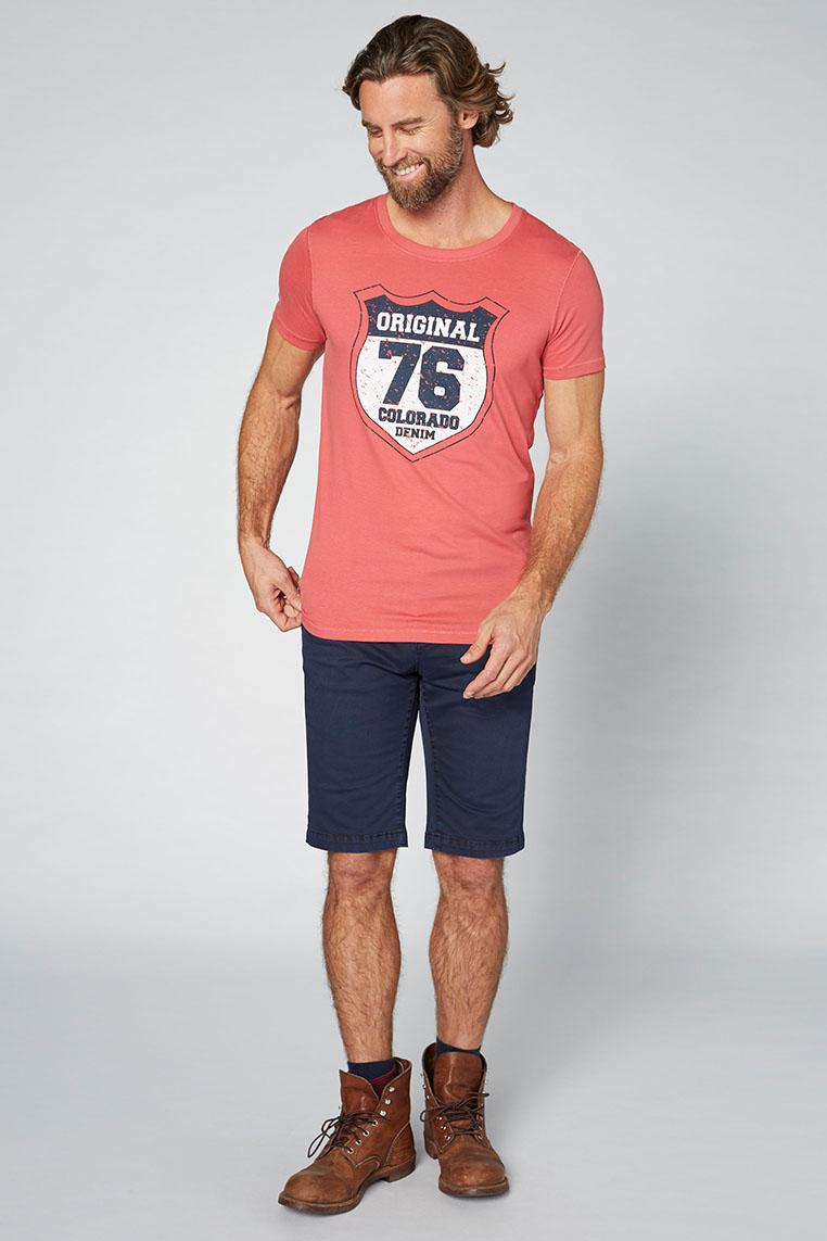 Colorado Adonis T-Shirt garnet rose Vorderansicht