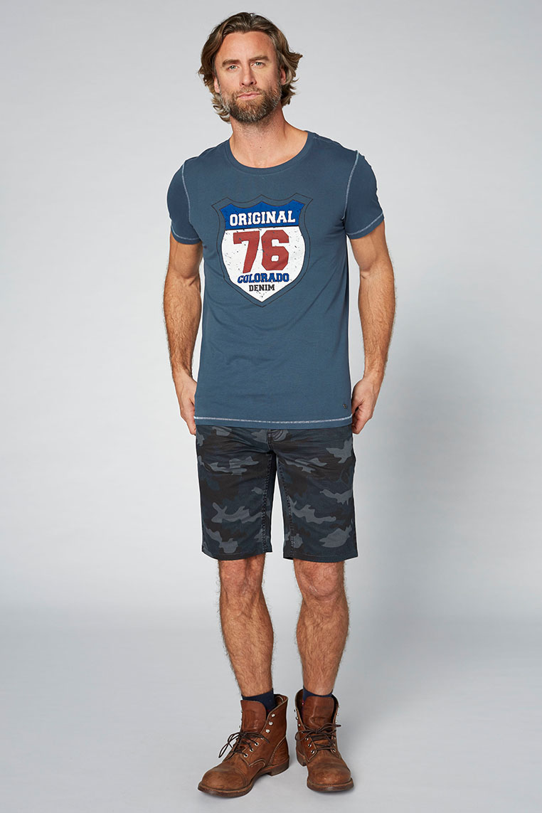 Colorado Adonis T-Shirt midnight navy Vorderansicht