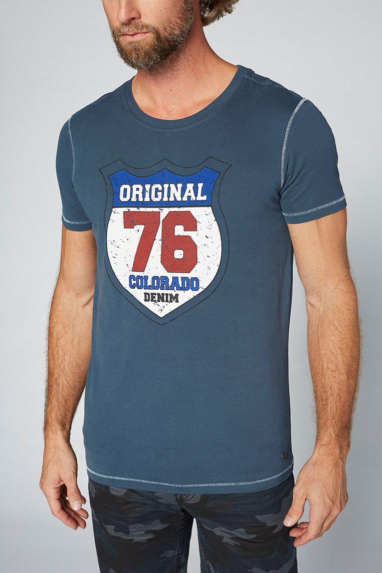 Colorado Adonis T-Shirt midnight navy Seitenansicht