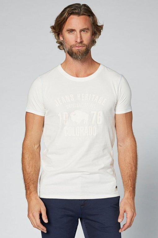 Colorado T-Shirt Kronos blanc de blanc Vorderansicht 2