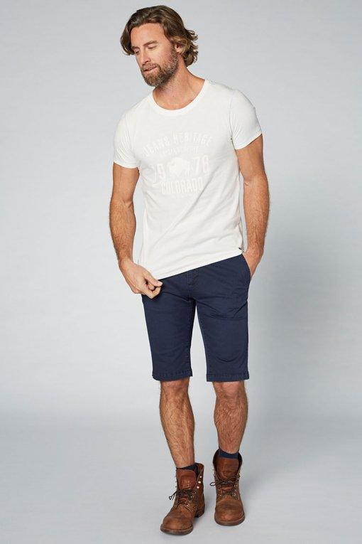 Colorado T-Shirt Kronos blanc de blanc Vorderansicht