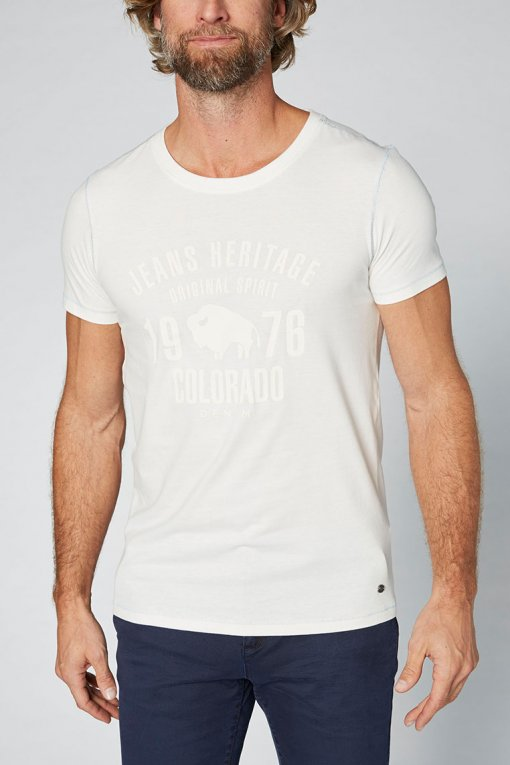 Colorado T-Shirt Kronos blanc de blanc Seitenansicht