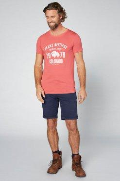 Colorado T-Shirt Kronos garnet rose Vorderansicht