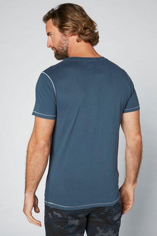 Colorado T-Shirt Kronos garnet rose Rückenansicht