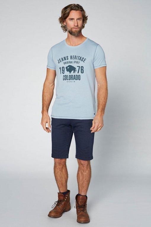 Colorado T-Shirt Kronos Ashley blue Vorderansicht
