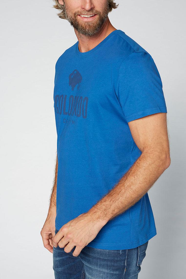 Colorado Cole T-Shirt true blue Seitenansicht