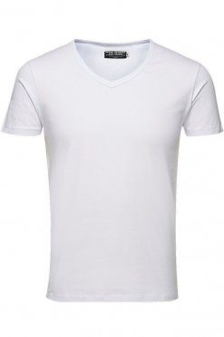 Jack & Jones V-Neck Tee S/S Vorderansicht