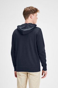 Jack & Jones Holmen Sweat Navy Hinteransicht