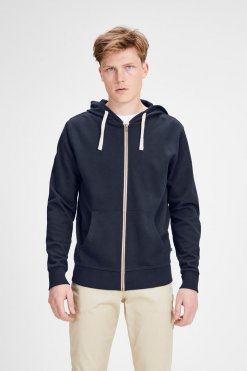 Jack & Jones Holmen Sweat Navy Vorderansicht