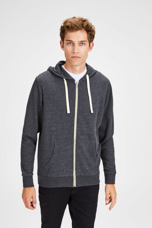 Jack & Jones Holmen Sweat dark grey Vorderansicht