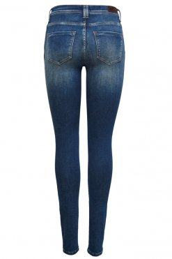 Only Shape Deluxe dark blue denim Hinteransicht