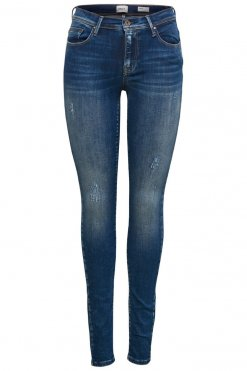 Only Shape Deluxe dark blue denim Vorderansicht