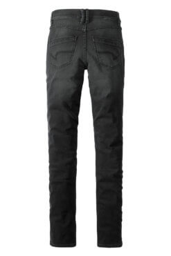 Paddock's Pat black denim Hinteransicht