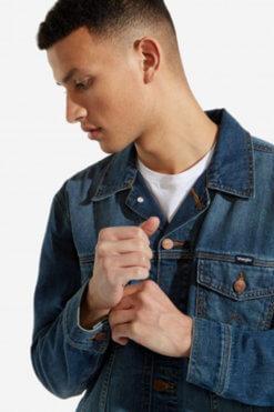 Wrangler Denim Jacket mid blue Vorderansicht