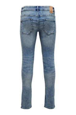 Only & Sons Loom light blue denim Hinteransicht