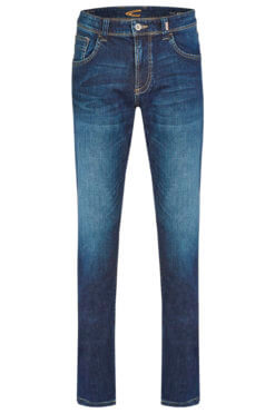 Camel Active Woodstock dark blue denim used Vorderansicht